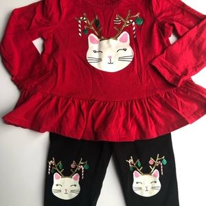 Holiday Cat Outfit